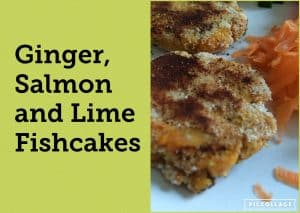 Ginger & Lime Salmon Fishcakes (Allergy Friendly)