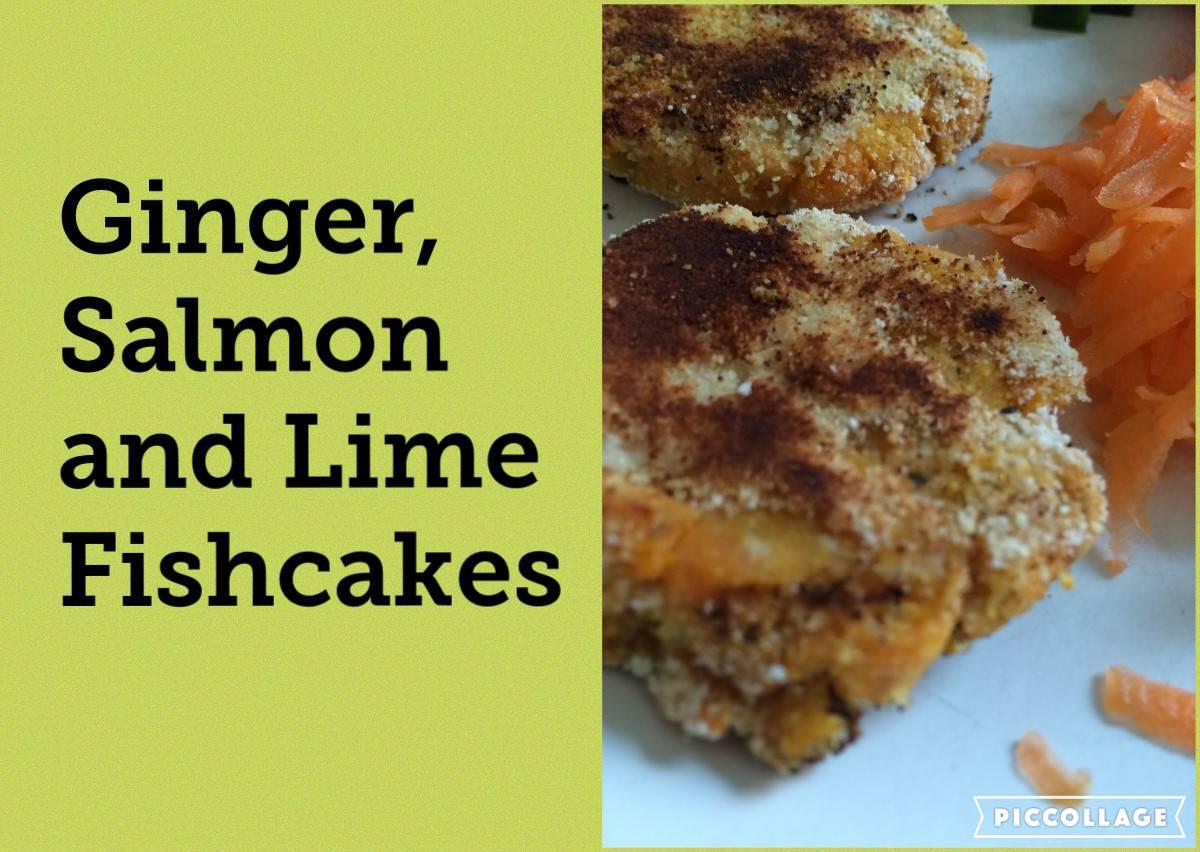 Ginger & Lime Salmon Fishcakes (Allergy Friendly)