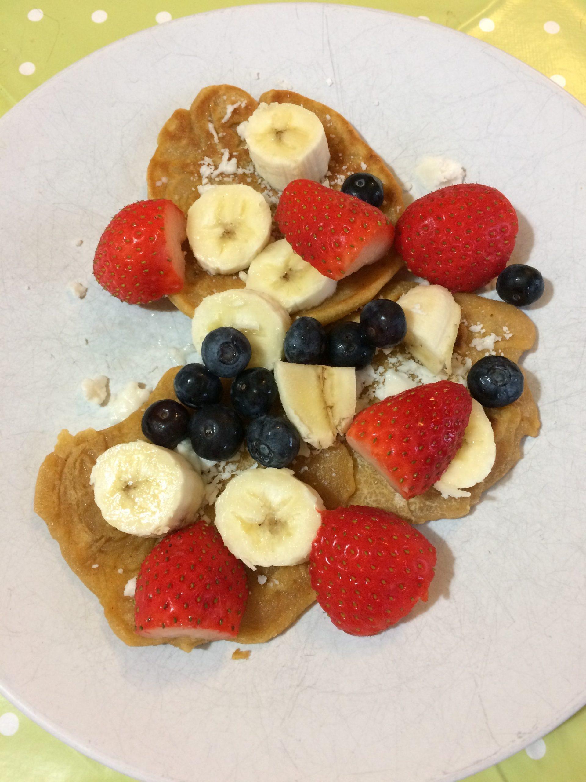 Gluten Free & Vegan Sweet Potato Pancakes