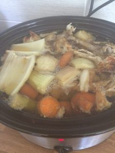 How to Make Slow Cooker Bone Broth