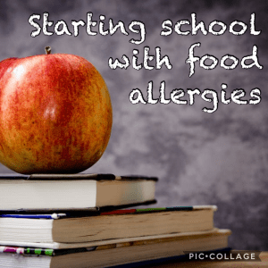 Starting School with Food Allergies