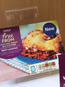 tesco free from beef lasagne