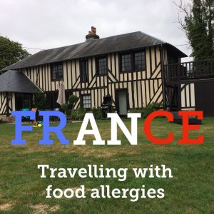 Travelling to France with food allergies