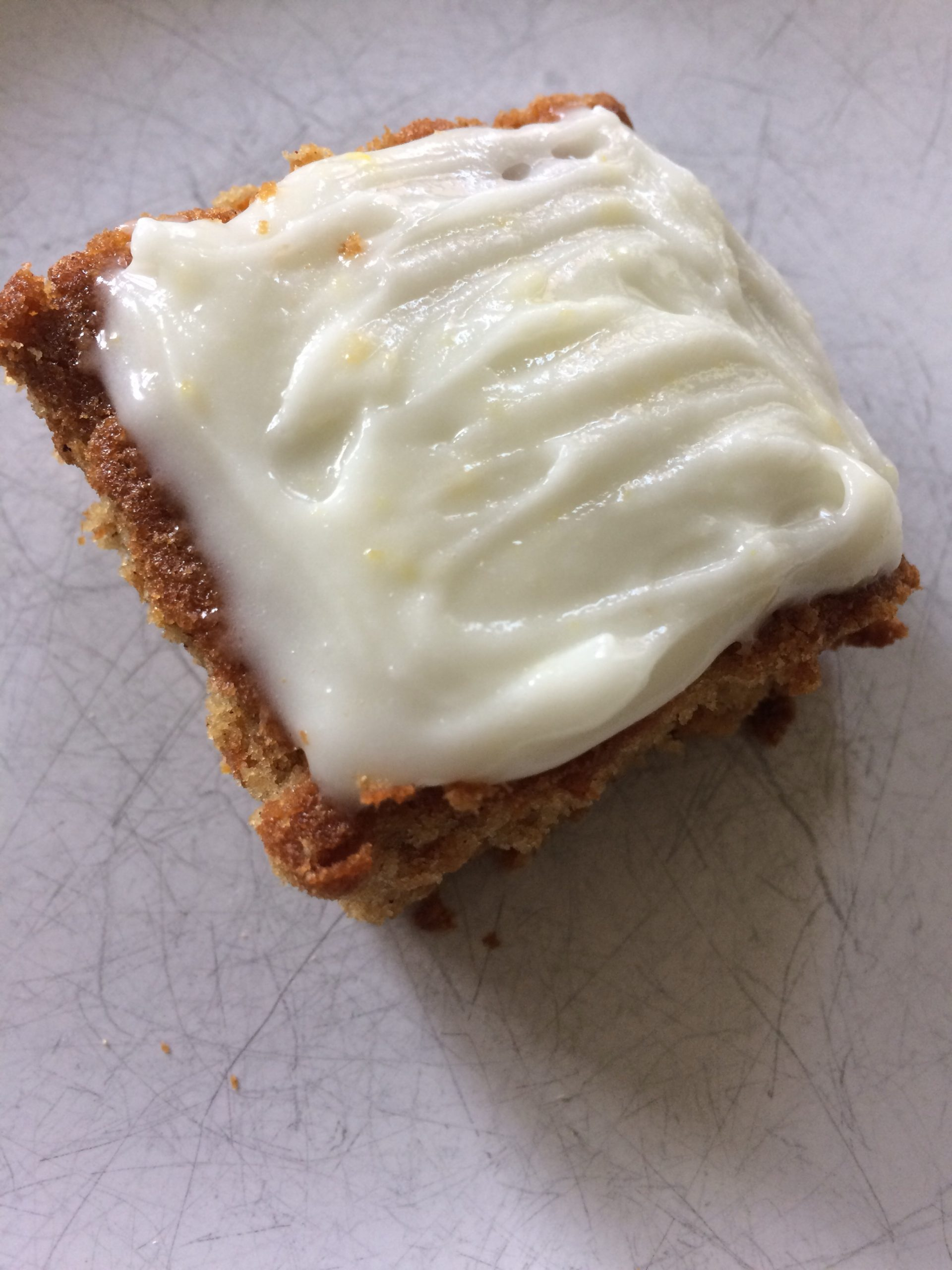 Carrot Cake with Lemon Cream Cheese Icing Recipe - Allergy Friendly, Gluten Free and Vegan