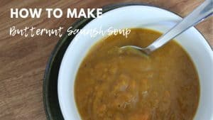 Butternut Squash Soup (Allergy Friendly)