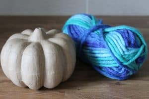 wool wrap teal pumpkin