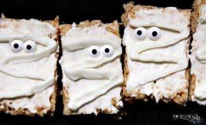 dairy free halloween mummy treats