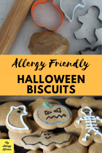 dairy free halloween biscuits