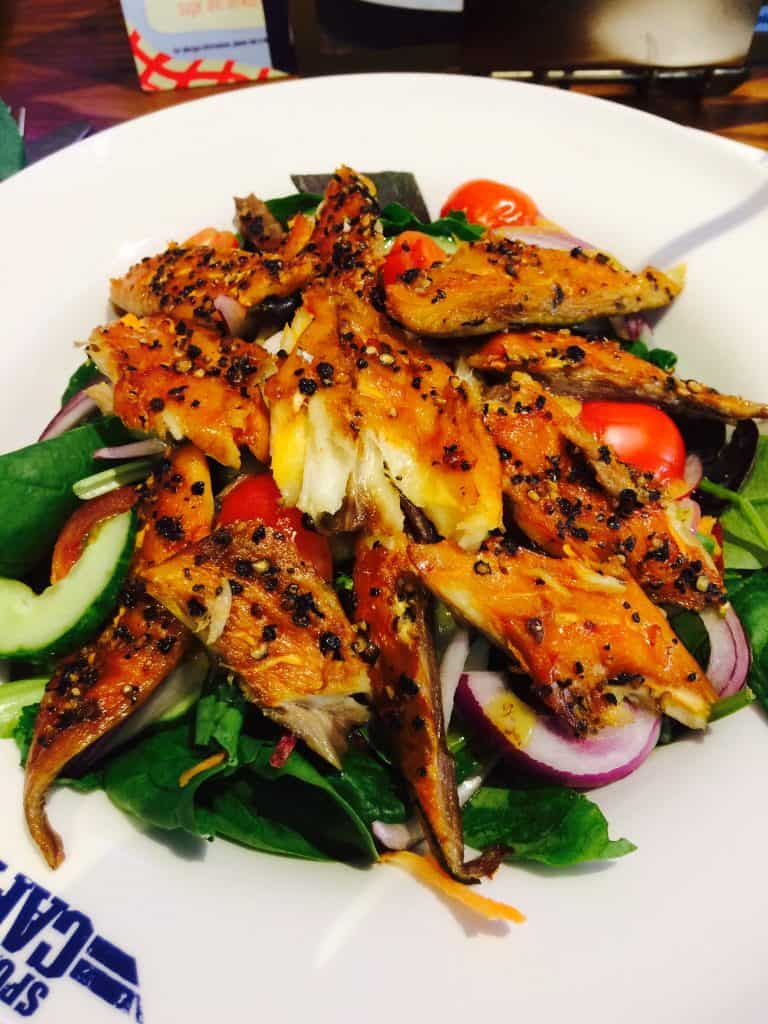center parcs mackerel salad
