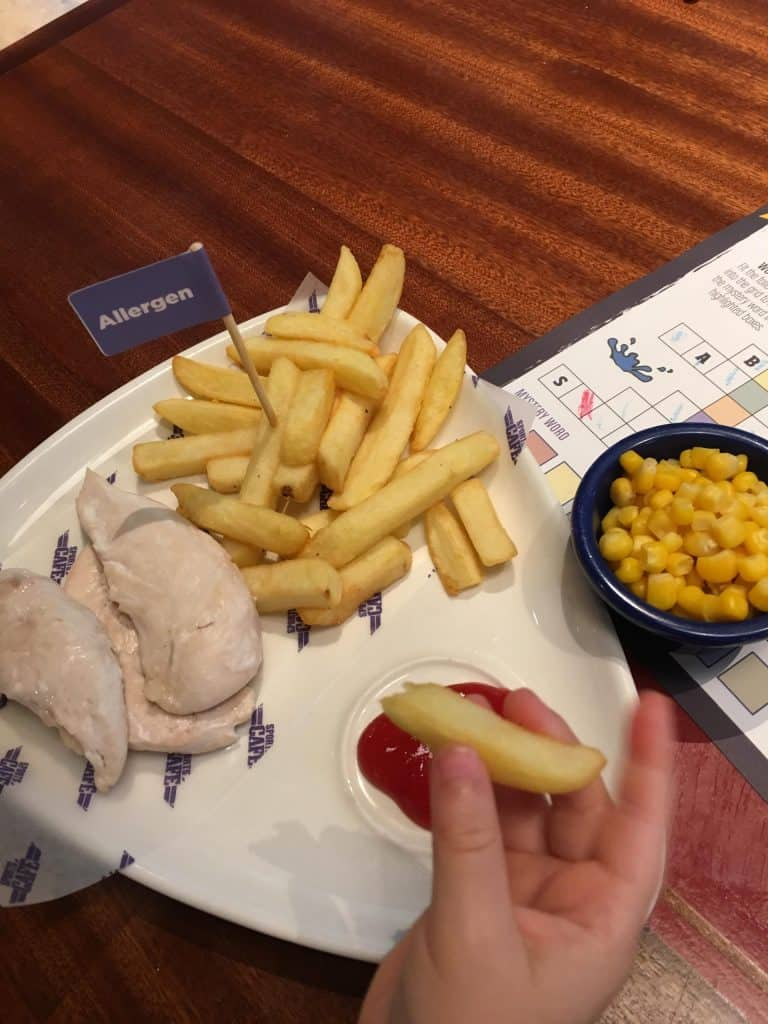 center parcs allergen meal