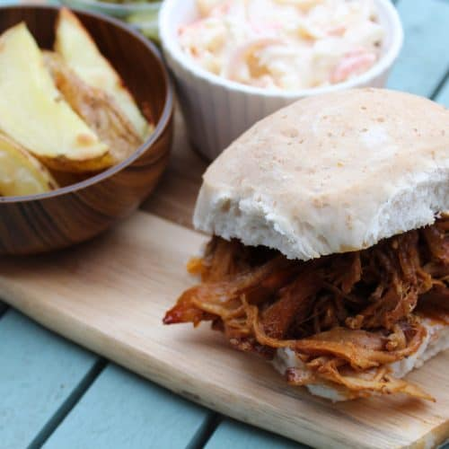 Slow Cooker Pulled Pork - Allergy Friendly, Low FODMAP
