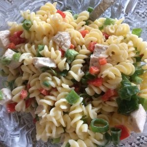 Dairy Free Pasta Salad - Allergy Friendly
