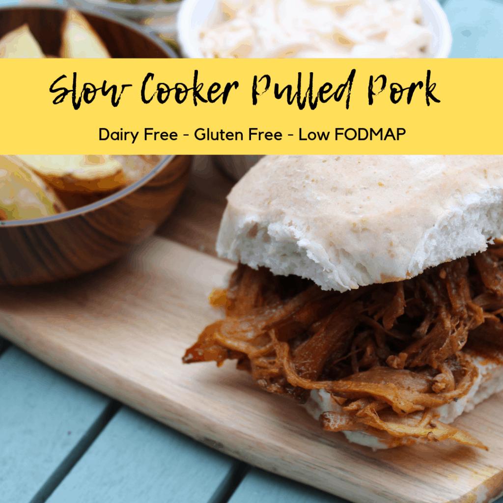 slow cooker pulled pork low fodmap
