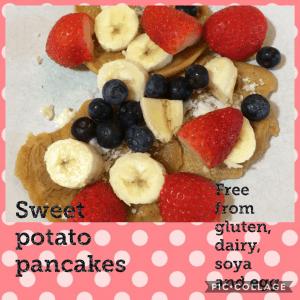 gluten free vegan pancakes