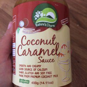 dairy free, soya free and vegan caramel sauce
