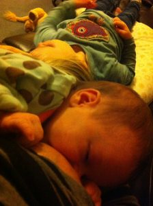 breastfeeding a baby with CMPA