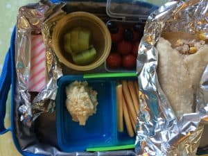 gluten, dairy and soya free lunchbox