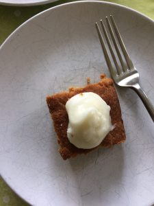 top 8 allergen free carrot cake with lemon cream cheese icing