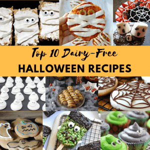 dairy free halloween recipes