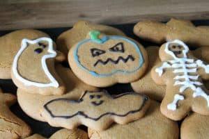 dairy free gingerbread men