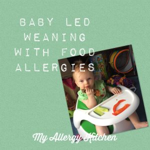 baby led weaning with food allergies