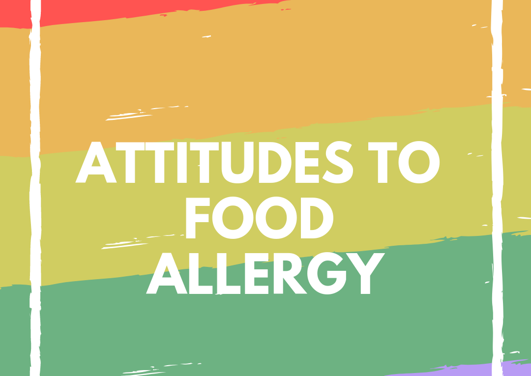 attitudes to food allergy