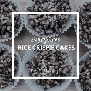 dairy free rice crispie cakes