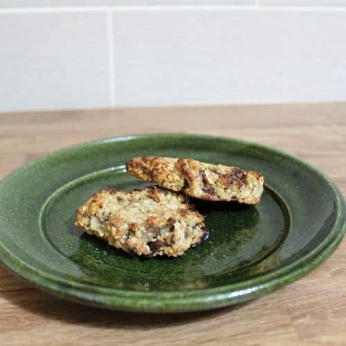 Banana Millet Breakfast Biscuits (Vegan, Gluten Free)