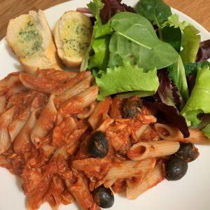 Dairy Free Tuna Pasta (Low FODMAP)