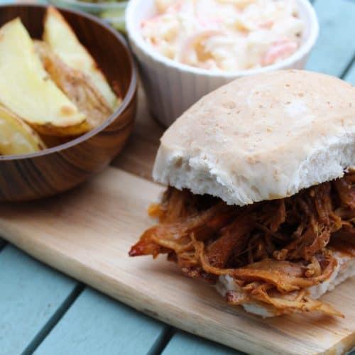 Slow Cooker Pulled Pork - Allergy Friendly, Low FODMAP