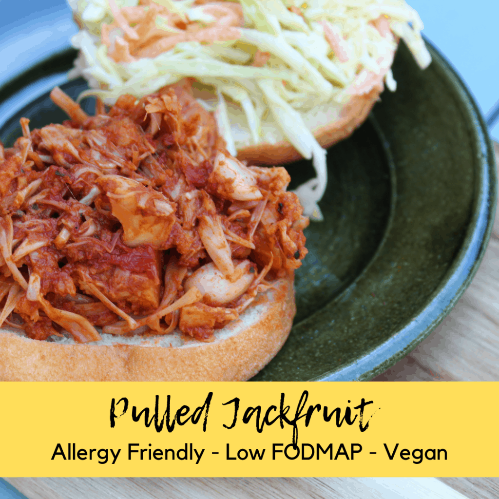low fodmap pulled jackfruit
