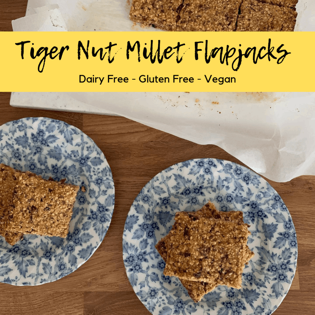 tiger nut millet flapjacks