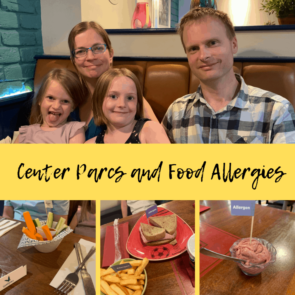 center parcs and food allergies