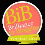britmums brilliance in blogging food finalist 2019