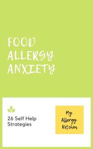 self help strategies for food allergy anxiety