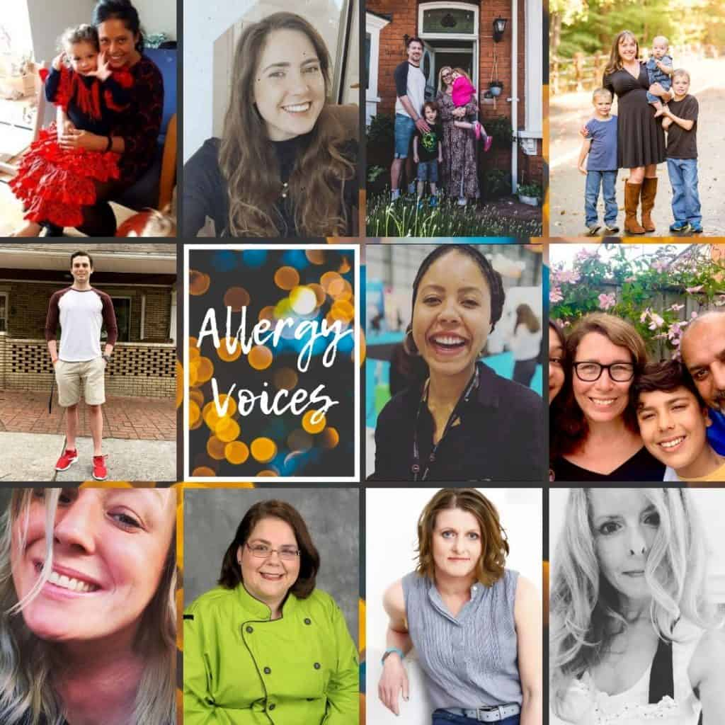 allergy voices volume 1 participants